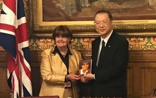 Master Lu Jun Hong and Baroness Cox